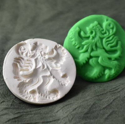 059: Rampant Lion Cookie Stamp
