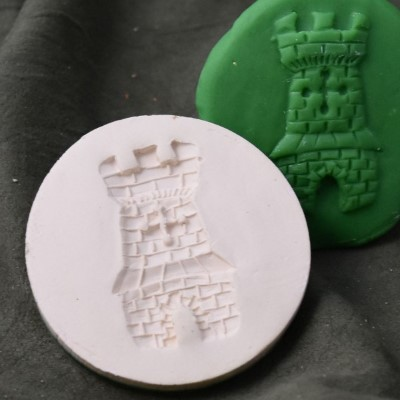 144: Tower Cookie Stamp